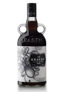 The Kraken Black Spiced Rum, 40% alc., 0,7 liter-0