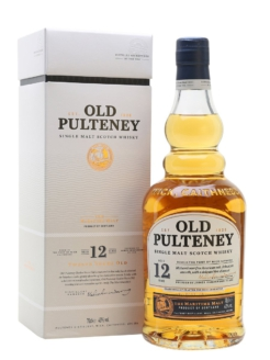 Old Pulteney 12 years old., 0,7 ltr., 40% alc.-0