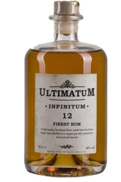 Ultimatum Infinitum Rum 12, 0,7 ltr., 40% alc.-0