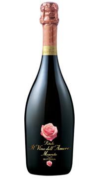 Bottega Petalo Il Vino dell' Amore, Moscato Spumante, 0,75 ltr., 6,5% alc.-0