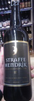 Straffe Hendrik Quadrupel, 0,75 ltr., 11% alc.-0