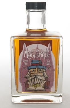 Monastique Elixir de L'Écluse, 0,5 ltr., 38% alc.-0