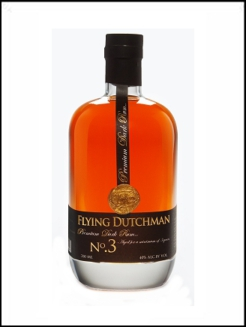 Zuidam Rum Flying Dutchman Dark 3 , 0,7 ltr., 40% alc-0