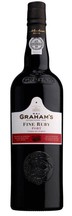 Graham's Fine Ruby Port, 0,75 ltr., 19% alc.-0