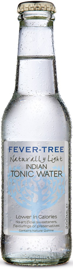 Fever Tree Light tonic 4 x 200 ml-0
