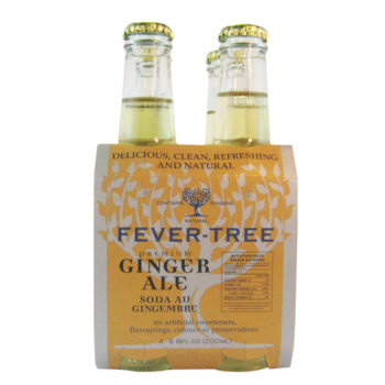 Fever Tree Ginger Ale 4 x 200 ml.-0