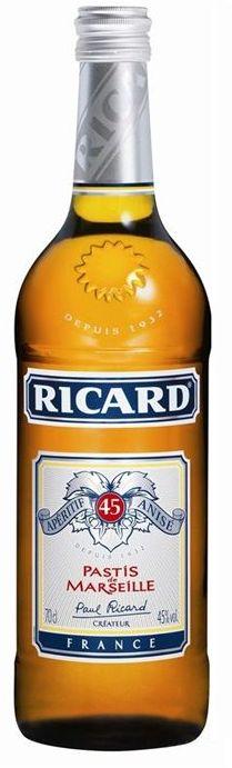 Ricard Pastis, 0,7 ltr. 45% alc.-0