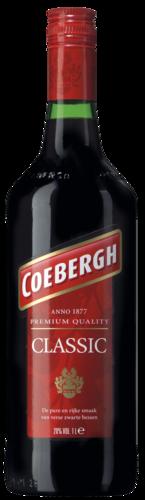 Coebergh Classic Bessenjenever, liter, 20% alc.-0