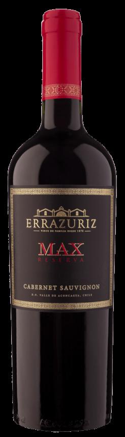 Errazuriz Max Reserva Cabernet Sauvignon, 0,75 ltr., 14% alc-0