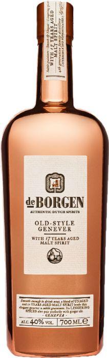 De Borgen Old-Style Genever, 70cl., 40% alc.-0