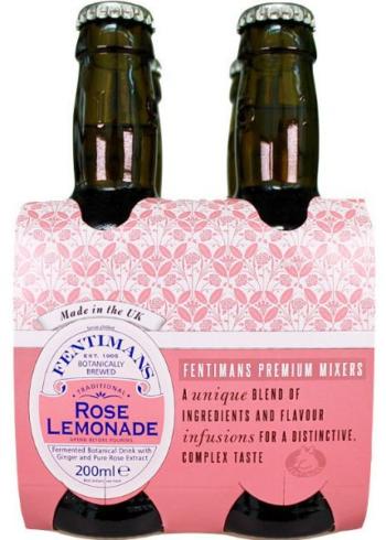Fentimans Rose Lemonade 4 x 200 ml-0
