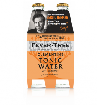 Fever Tree Clementine & Cinnamon by Sergio Herman 4 x 20 cl.-0