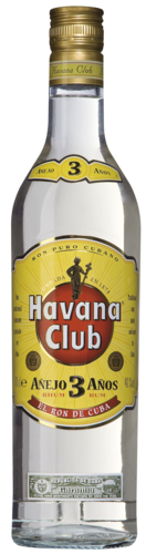 Havana Club 3 años, 70 cl., 40% alc.-0