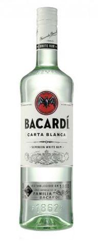 Bacardi Carta Blanca 70 cl., 37,5% alc-0