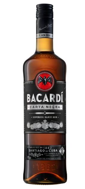 Bacardi Carta Negra, 70 cl., 40% alc.-0
