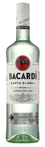 Bacardi Carta Blanca liter, 37,5% alc.-0