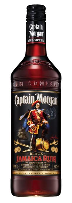 Captain Morgan Black rum, 70 cl., 40% alc.-0