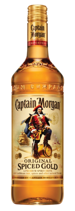 Captain Morgan Spiced Gold, liter, 35% alc.-0