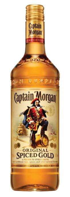 Captain Morgan Spiced Gold 70 cl., 35% alc.-0