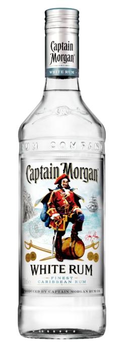 Captain Morgan White Rum, 70 cl., 37,5% alc.-0