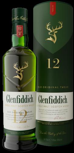 Glenfiddich 12 years old Signature Malt, 70 cl., 40% alc.-0