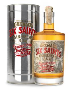 Six Saints Grenada Carribean Rum, 70 cl. 41,7% alc-0