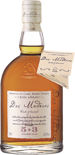 Dos Maderas 5+3, Double Aged Rum, 70 cl., 37,5% alc.-0