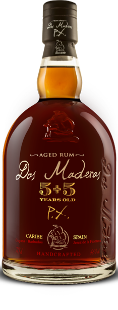 Dos Maderas PX 5+5, triple aged rum, 70 cl., 40% alc.-0