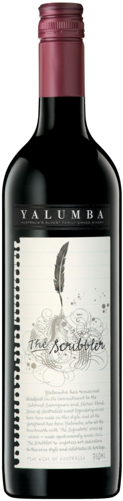 Yalumba The Scribbler, 75cl, 13.5% alc.-0
