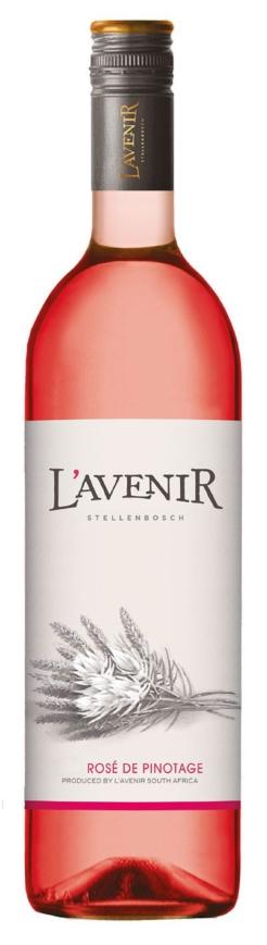 L'Avenir Far & Near Rosé de Pinotage, 75cl, 13.5% alc.-0
