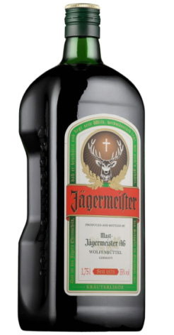 Jägermeister 1,75 liter, 35% alc.-0