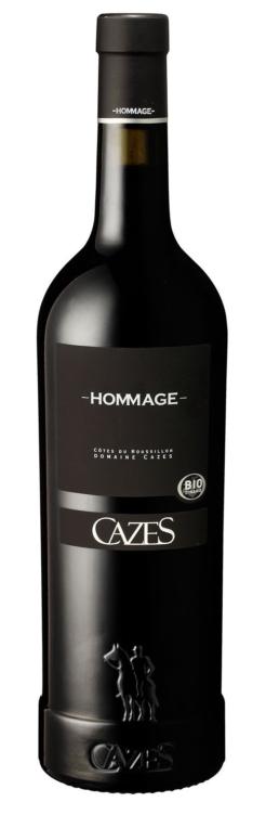 Cazes Hommage Rouge Classic, 75cl, 13.5% alc.-0