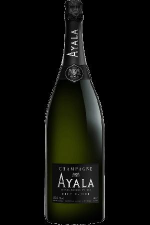 Ayala Brut Majeur Jeroboam in houten kist, 3 liter, 12% alc.-0