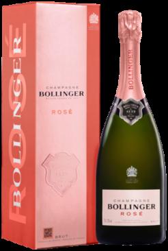 Bollinger Rosé, 75cl, 12% alc.-0