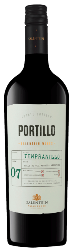 Portillo Tempranillo, 75cl, 13.5% alc.-0