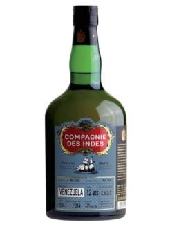 Compagnie des Indes Single Cask Rum Venezuela 12 C.A.D.C, 70 cl., 43% alc.-0