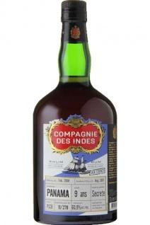 Compagnie des Indes Single Cask Rum Panama 9 years, 70 cl., 60,9% alc.-0