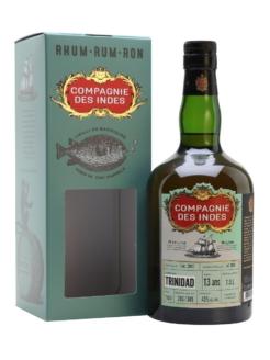 Compagnie des Indes Single Cask Rum Trinidad 13 T.D.L., 70cl, 45% alc.-0