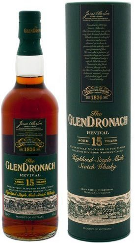 The Glendronach 15 years old Revival, 70 cl., -0