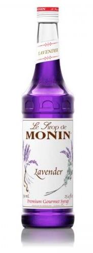 Monin Lavendelsiroop, Sirop de Lavande, 70 cl.-0