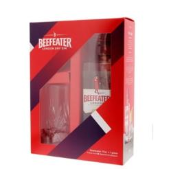 Beefeater Gin geschenk + glas, 70 cl., 40% alc.-0