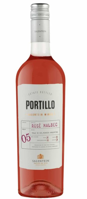 Portillo Malbec Rosé, 75 cl, 14% alc.-0