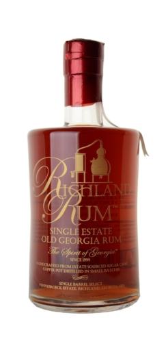 Richland Single Estate Old Georgia Rum, 70cl, 43% alc.-0