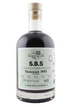 1423 S.B.S. Trinidad 1993 Caroni 'The Beast' rum, 70 cl., 50,7% alc.-0