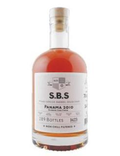 1423 S.B.S. Panama 2010 rum, 70 cl., 54% alc.-0