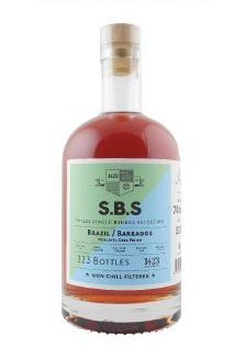 1423 S.B.S. Brazil/Barbados rum, 70 cl., 52% alc.-0