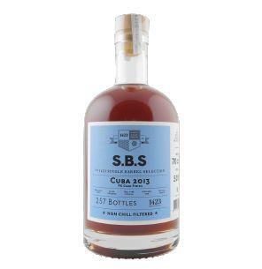 1423 S.B.S. Cuba 2013 rum, 70 cl., 50% alc-0