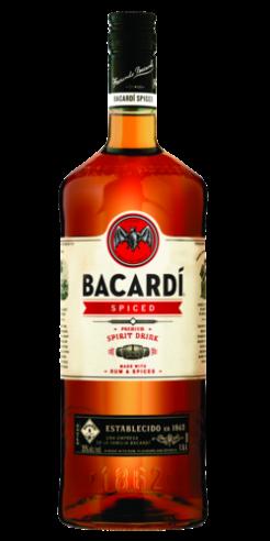 Bacardi Spiced, 150cl, 35% alc.-0
