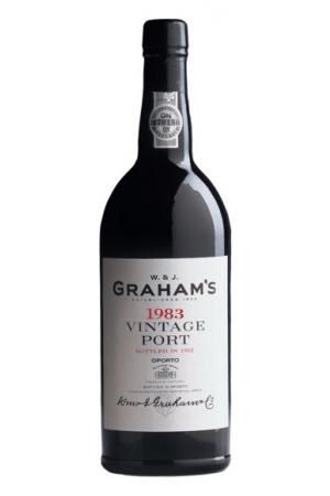 Graham's Vintage Port 1983, 75 cl., 20% alc-0