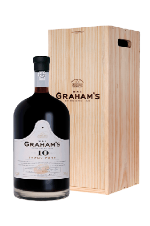 Graham's 10 years old, 4,5 liter in kist, 20% alc.-0